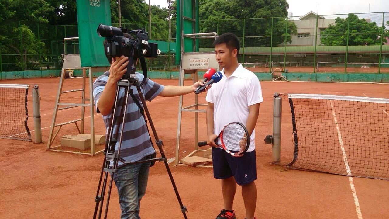 中天記者專訪張智翔教練